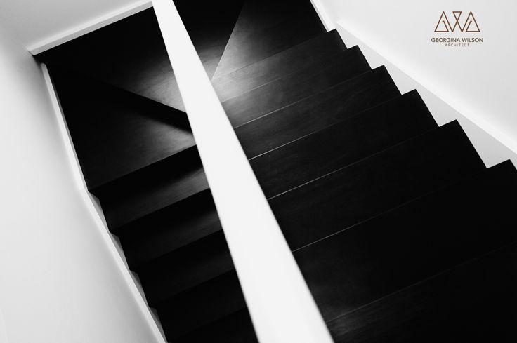 Renewed existing stairway