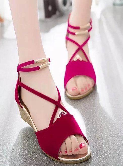 3380fb800 Red Sandals, Women Sandals, Gladiator Sandals, Your Shoes, New Shoes,  Women's
