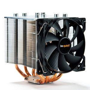 Ventilateur processeur Be Quiet ! Shadow Rock 2 Ventilateur de processeur (pour Socket AMD AM2/AM2+/AM3/AM3+/FM1/FM2/754/939/940 et INTEL LGA 775/1150/1155/1156/1366/2011) - Garantie constructeur 3 ans