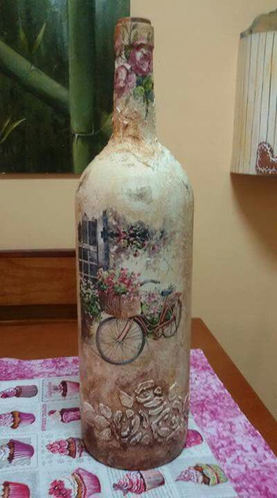 Nice Decoupage Idea
