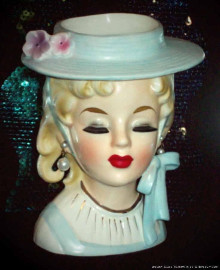 75 Best Vase Heads Images On Pinterest Wall Pockets China Dolls