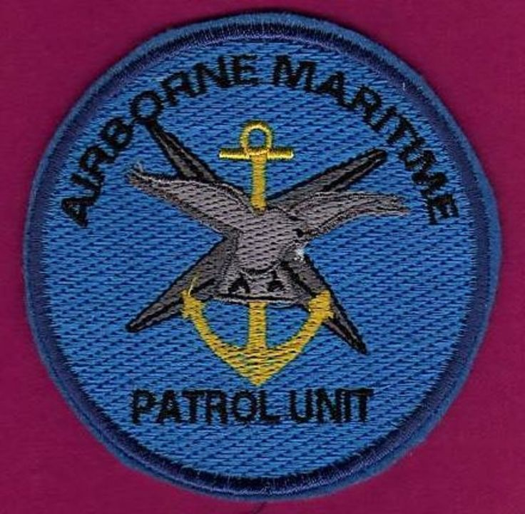 SRAEL IDF AIR FORCE AIRBORNE MARITIME PATROL PATCH