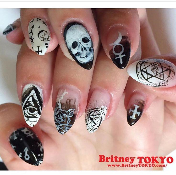 Grunge Nail Art On Pinterest: 17 Best Ideas About Grunge Nails On Pinterest