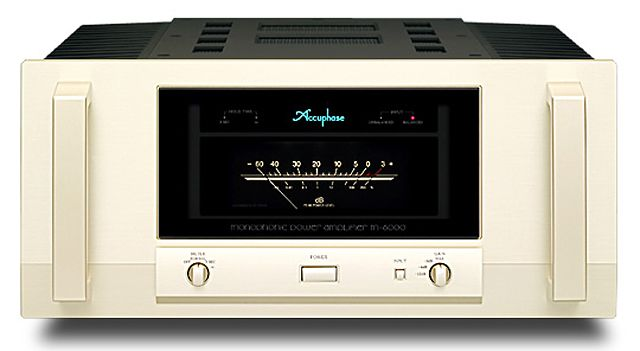 MONOPHONIC POWER AMPLIFIER M-6000