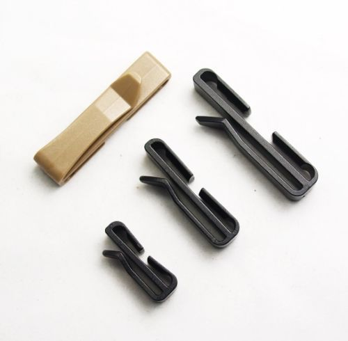 3 Sizes 2X 2PSC MOLLE Webbing Clip Folder Buckle Fix Lock Extra Hanging Straps | eBay