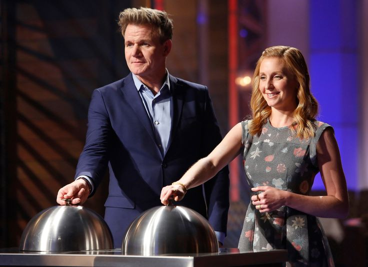 MASTERCHEF: JUNIOR EDITION: L-R: Gordon Ramsay and Christina Tosi in the all-new Junior Edition: Quest for the Apron, Pt. 2 episode of MASTERCHEF airing Thursday, Feb. 16 (8:00-9:01 PM ET/PT) on FOX. (Photo by FOX via Getty Images)  via @AOL_Lifestyle Read more: https://www.aol.com/article/entertainment/2017/04/10/what-if-heres-what-princess-diana-michael-jackson-and-heath-l/22034151/?a_dgi=aolshare_pinterest#fullscreen