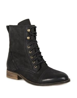 Lace Up Leather Boots | Woolworths.co.za