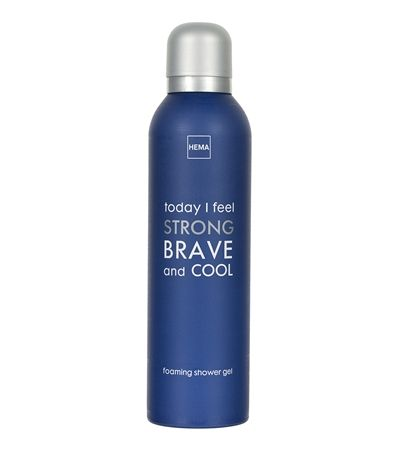 HEMA beauty - Foaming shower gel today I feel strong.