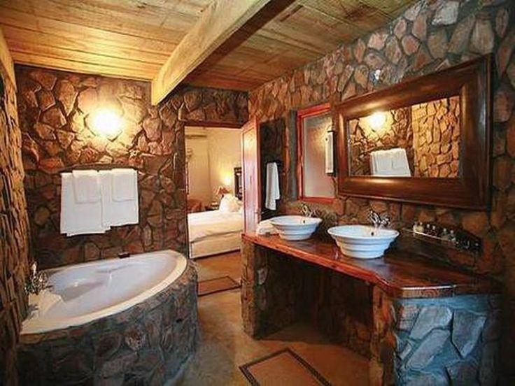 cuartos de baños rusticos - Buscar con Google