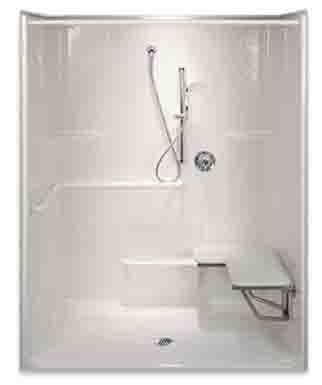 Best 25 handicap shower stalls ideas on pinterest - Disabled shower room ...