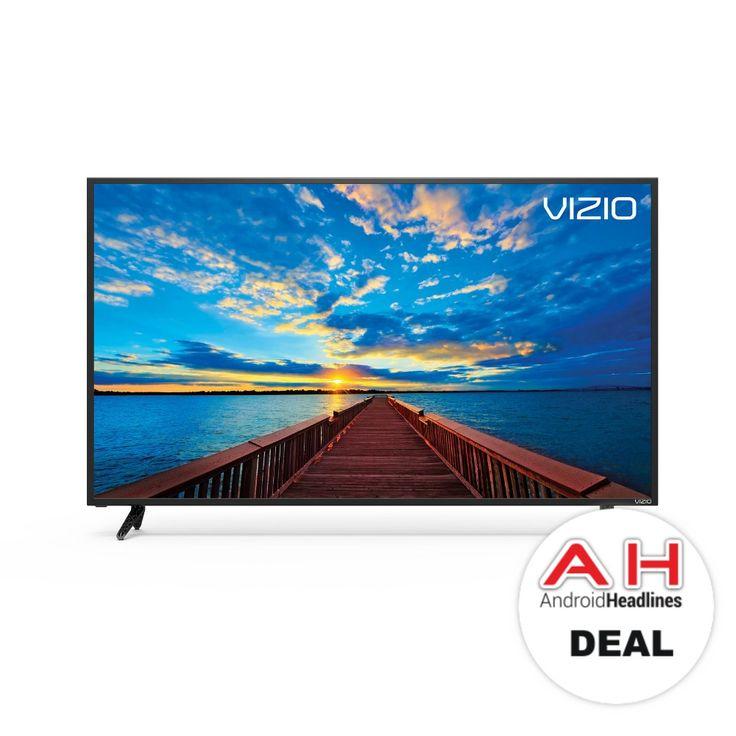 Deal: VIZIO SmartCast 50-inch 4K Ultra HD TV (E50x-E1) for $279 – 11/15/17 #Android #Google #news