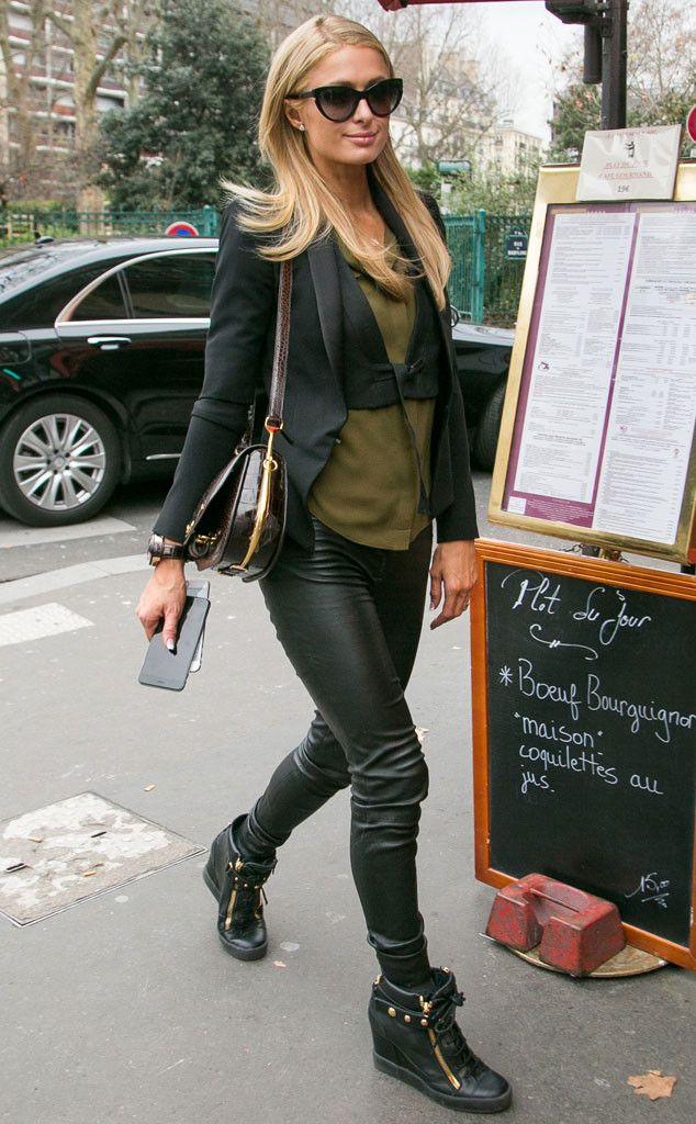 Paris HIlton from The Big Picture: Today's Hot Pics  The heiress arrives at the Sip Babylone restaurant in...Paris.