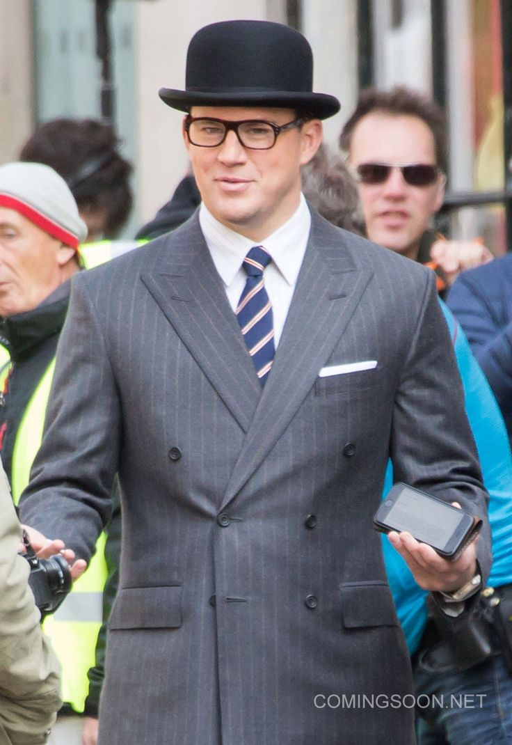 Channing Tatum Is Dressed To The Nines In This 'Kingsman: The ...