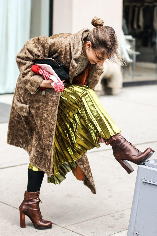fwah2016 Street looks a la Fashion Week automne-hiver 2016-2017 de New York 20 Like & Repin. Noelito Flow. Noel songs. follow http://www.instagram.com/noelitoflow