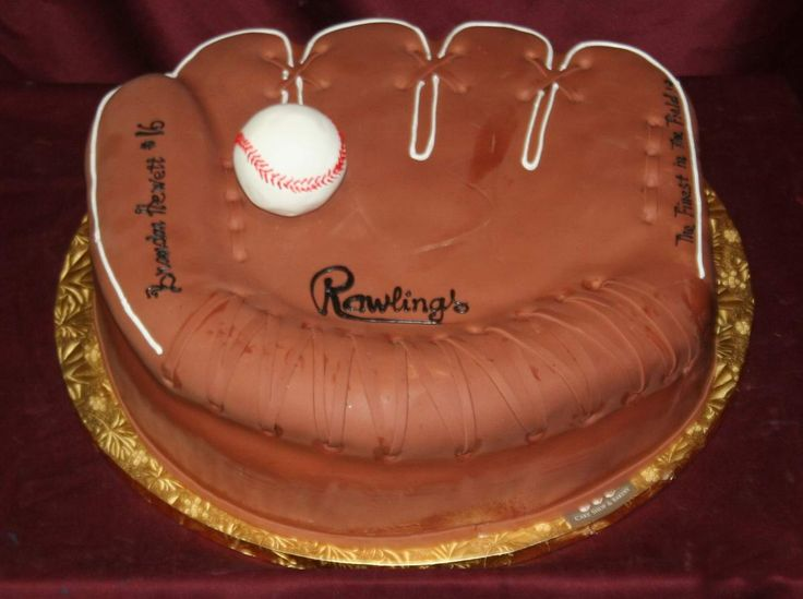 baseball birthday cakes | 1st Birthday Cake Ideas for Boys 1st Birthday Baseball Glove Cake ...
