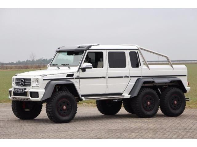 Mercedes-Benz G 63 AMG 6x6 designo mysticwhite Weiß - 4