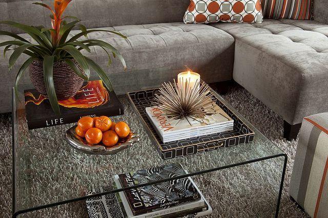 Mesas de centro de cristal para tu salón
