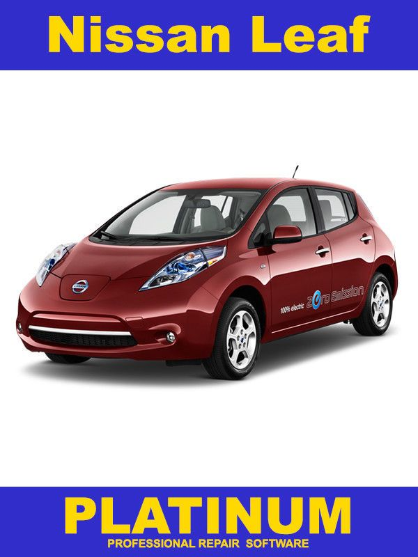 nice Amazing Nissan Leaf Repair Manual on DVD 2011, 2012, 2013 and 2014 2017/2018
