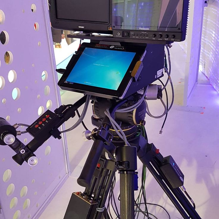 Remote crane control system for Verissimo television program Studio 14 - Mediaset (Italy)