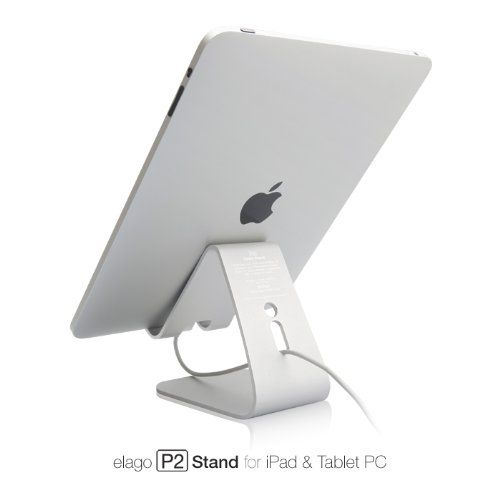 elago P2 Stand (Silver) for iPad and Tablet PC $30