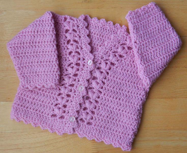 Ravelry: Babies Cardigan Pattern No.241 pattern by Kay Jones