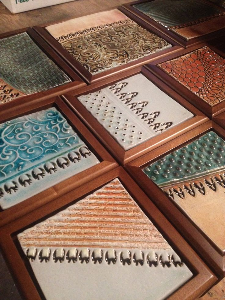 tiled jewelry boxes by Gary Jackson : Fire When Ready Pottery