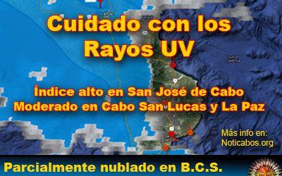 Estado del Tiempo en Baja California Sur