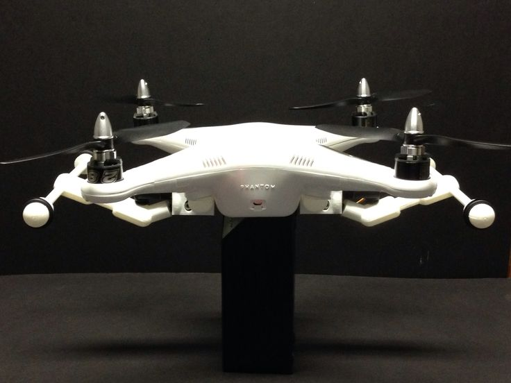 RETRAX Switch activated retractable landing gear for the DJI Phantom 1 and Phantom 2 RC quadcopter drone.
