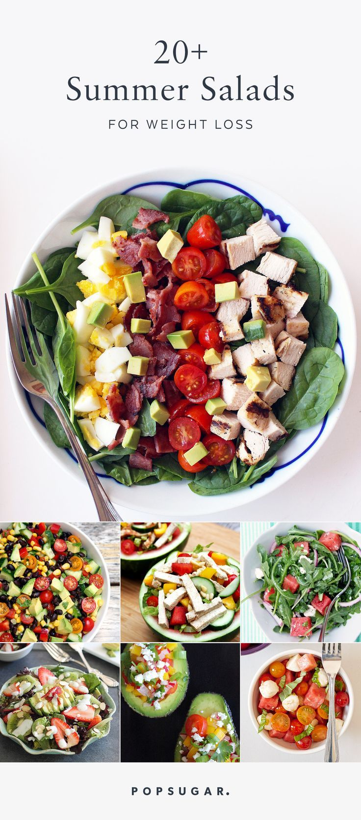 If you're looking to lose weight, salads are bound to be a big part of your life. Luckily, there's no better season than Summer to enjoy the bounty of produce the season has to offer! These are 22 of the best Summer salad recipes that won't bore you to tears.