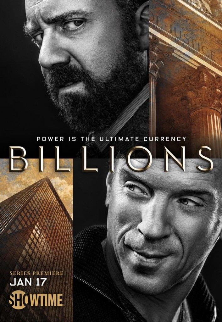 BILLIONS Season 1 Poster