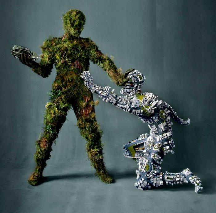Man vs Nature by universal124.deviantart.com