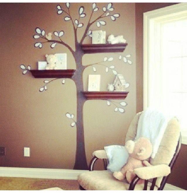 Super Cute DIY Wall Paint Idea. For a little girls room