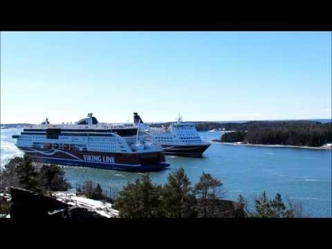 Tallink Silja Viking Line TimeLaps Mariehamn 02.04.2013