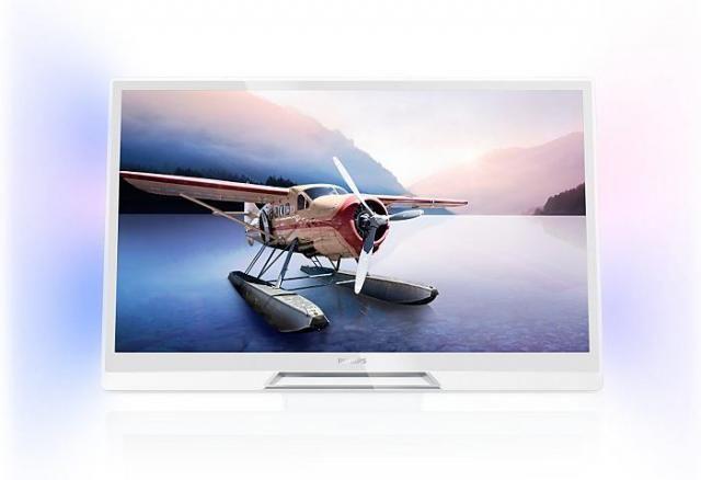 Philips 42PDL6907K/12 weißer 3D Fernseher
