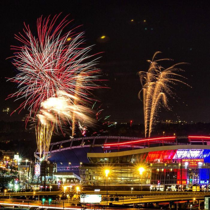 3.) The Outlaws Annual Mile High Fourth of July, Sports Authority Field