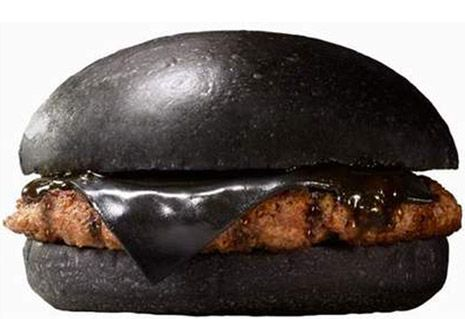 Burger King goes 'goth' in Japan with their 'Black Burger' (and black cheese) | Dangerous Minds #Expo2015 #Milan #WorldsFair