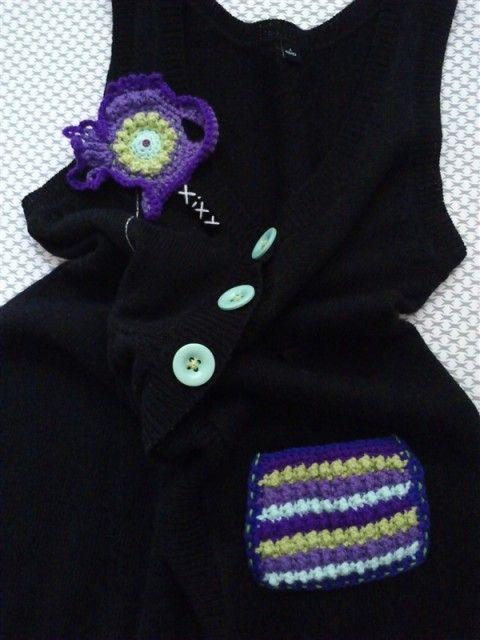 Designový svetr XiXY - šaty černý svetr šatovka šaty originá