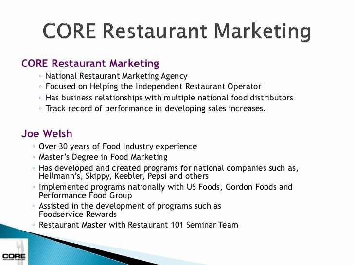 25 Restaurant Marketing Plan Pdf In 2020 Restaurant Marketing