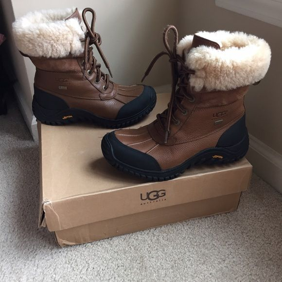 Ugg Adirondack Boot in Otter Selling Women's Ugg Adirondack Boots in Otter. Size 7. Hardly worn UGG Shoes Winter & Rain Boots