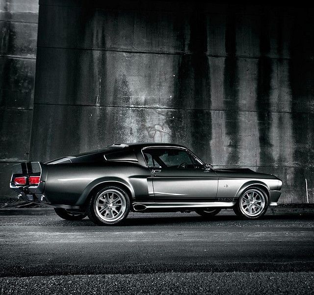 """1967 Shelby Mustang GT500 -- As if """"Gone In 60 Seconds"""" wasn't awful enough for being a crime against writing, acting, directing, cinematography, plot, direction, timing, marketing, and special effects, suddenly everyone became a fan of the GT500. So much for the exclusivity."""