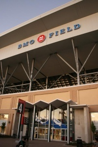 BMO Field, home of The Toronto FC