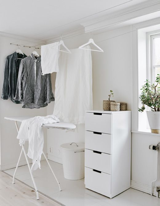Keep your laundry space neat