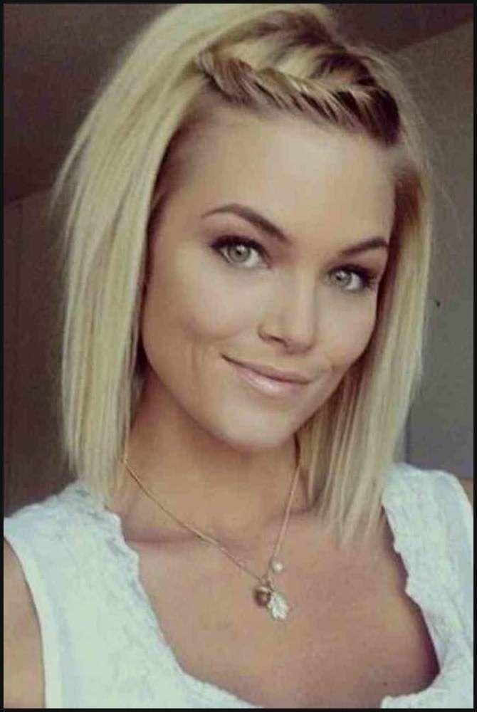 Haar Ideen Mittel Kurzhaarfrisuren 2018 Damen Frisuren Dünnes Haar …