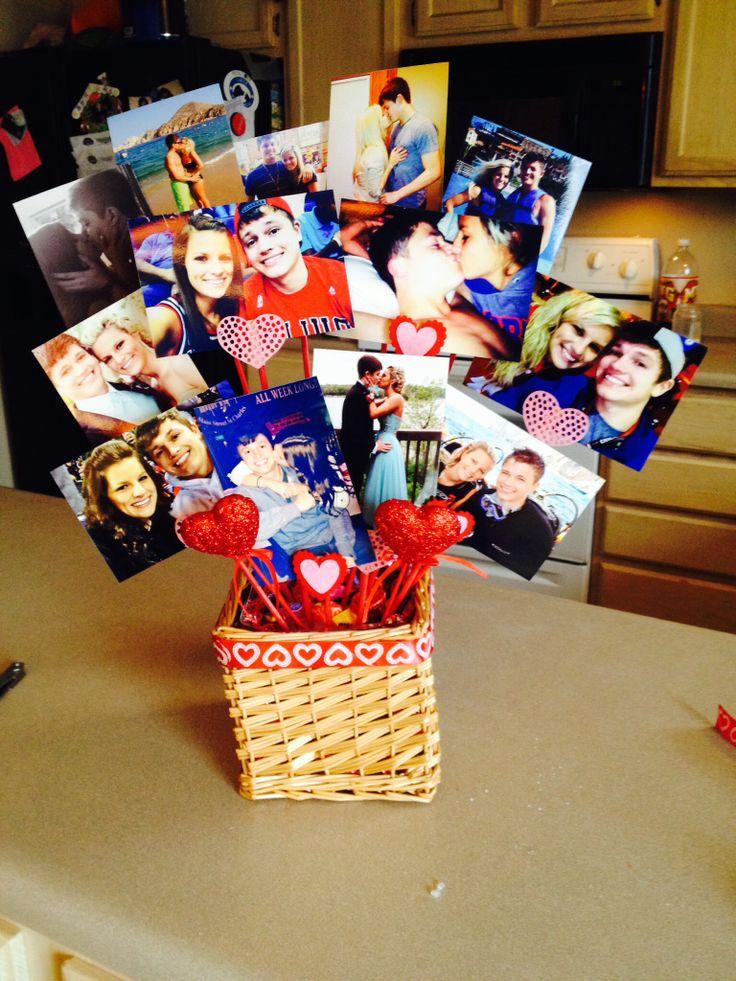 Cute Valentines Day Ideas Picture Bouquet DIY Pinterest