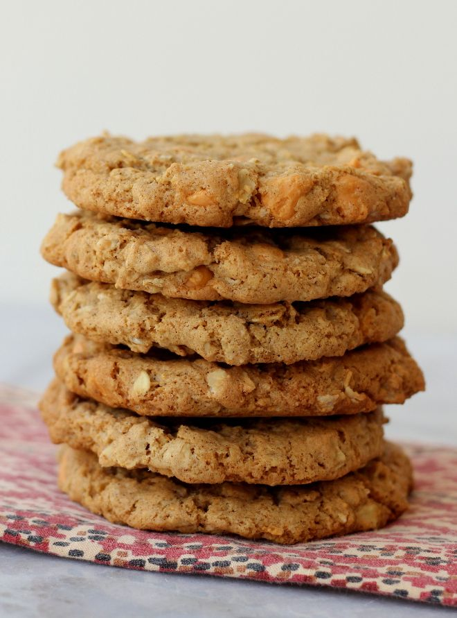 Gluten-Free Oatmeal Scotchies! An old favorite made gluten-free!