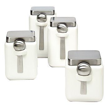 7 best images about kitchen canisters on pinterest chelsea 6 quot square canister kitchen and dining pinterest