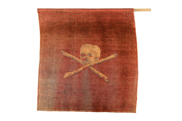 The Jolly Roger Pirate Flag c. 1789.