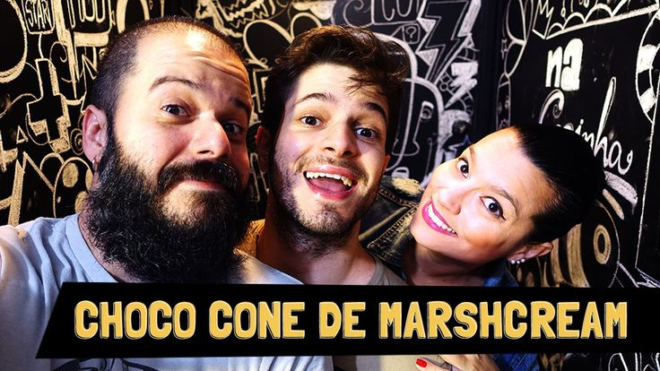 Choco Cone de Marshcream (marshmallow, cereais e sorvete de creme) | Soc...