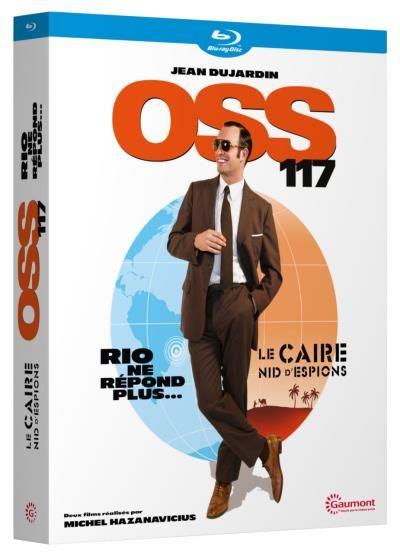 OSS 117 Coffret OSS 117 Blu-ray - Coffret DVD - Blu Ray - Michel Hazanavicius - Jean Dujardin - Bérénice Bejo - Achat & prix   fnac