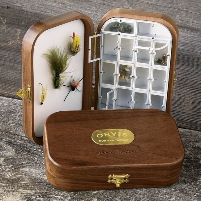15 best fly fishing boxes images on pinterest fishing for Fishing gift box